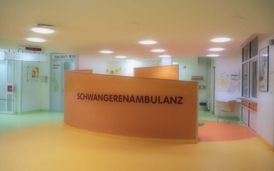 Geburtskliniken besuchen – Check!!