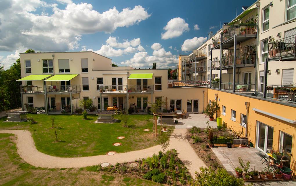 Leben in einem Generationen übergreifenden Wohnprojekt