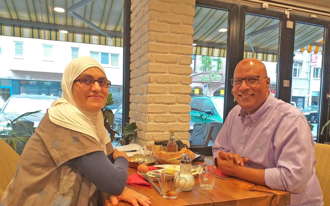 Falafel zum Sonntagsfrühstück mit der Familie