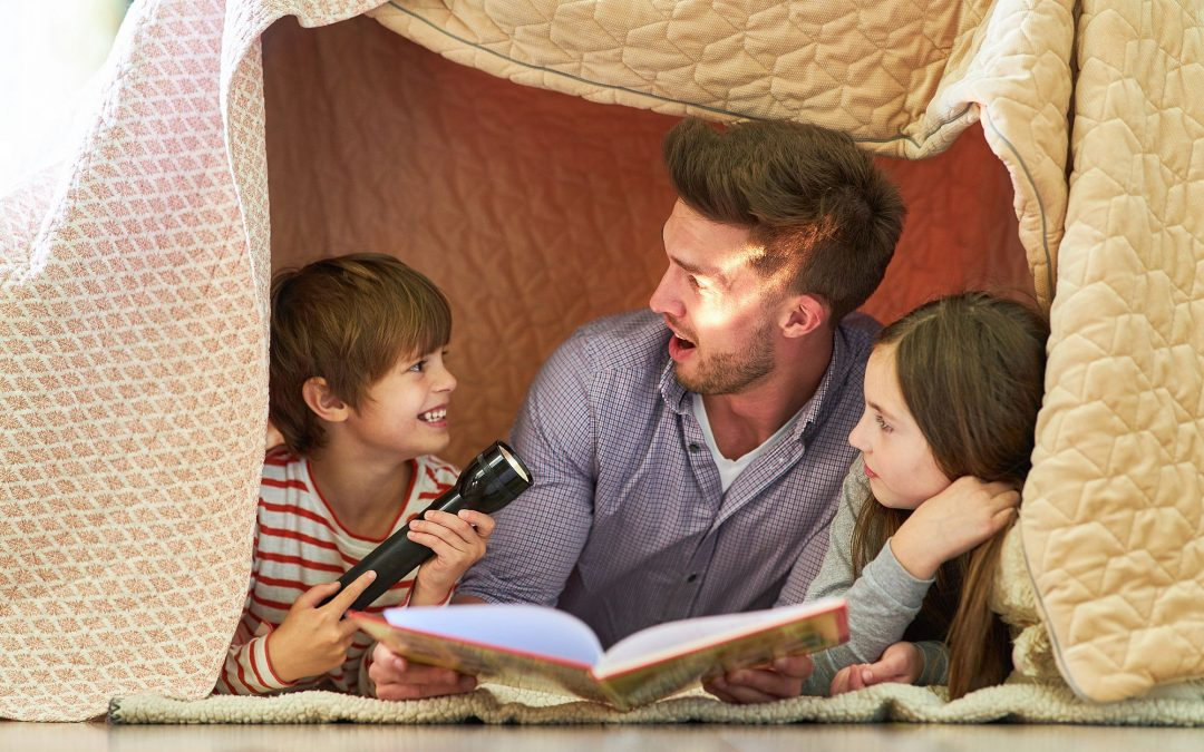 Vorlesen ist mehr als die Betrachtung von Büchern