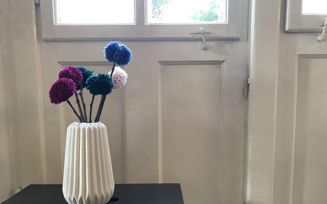 """""""Pompom-Blumen"""""""