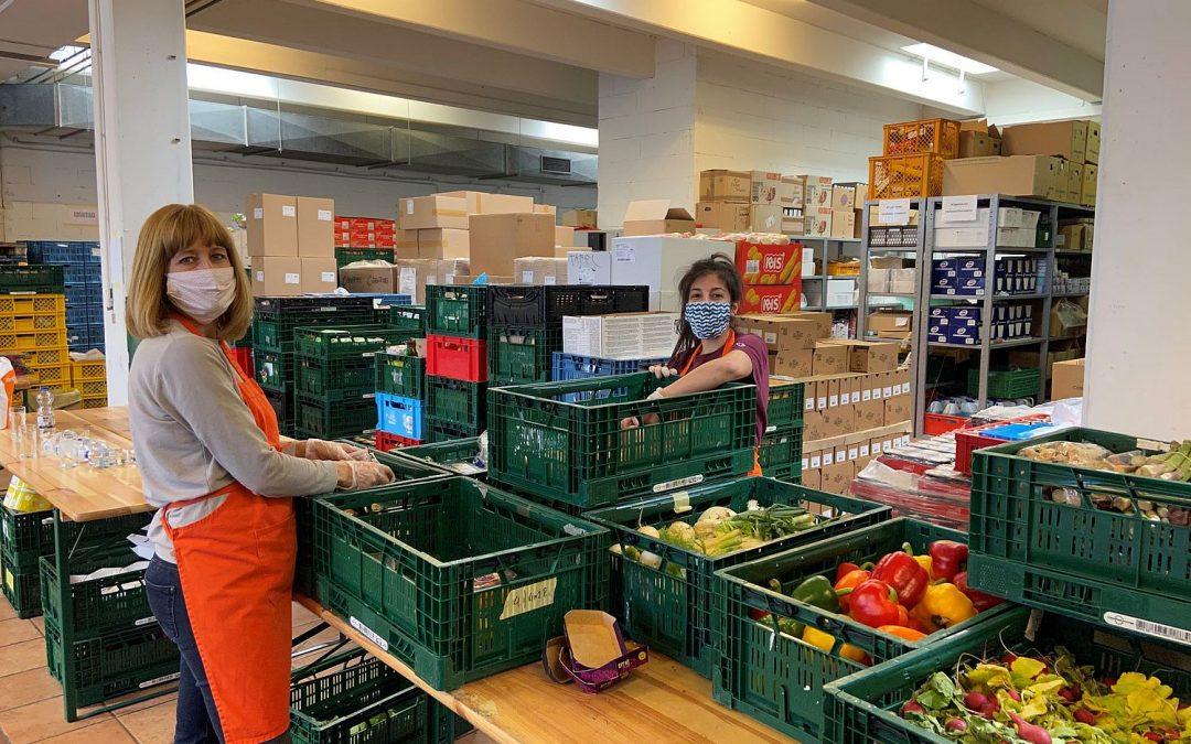Lebensmittel retten. Menschen helfen. Abstand halten.